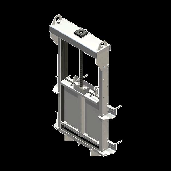 Penstocks - Sluice Gate Valves DN 150 - DN 4000 rectangular or square shape, aluminium alloy, HDPE, stainless steel 304 (1.4301), 316 (1.4571) and Duplex (1.4462).