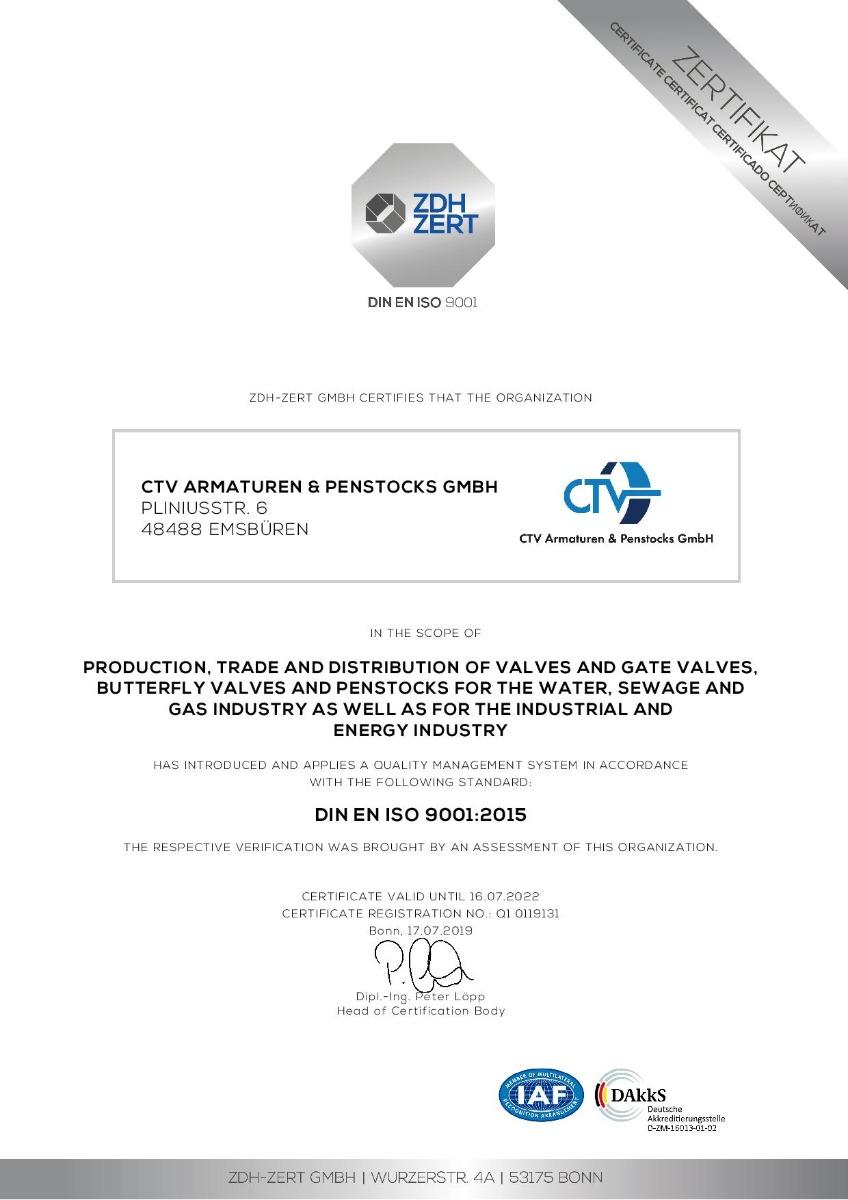 CTV ISO-9001 EN