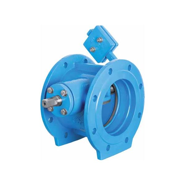 Kipp-Rückschlagklappe DN 200 - DN 1200 Check Valve with Lever & Weight - PN10/16