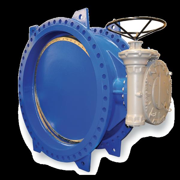 Double eccentric butterfly valve DN 100 - DN 2600 / DN 2600 Doppelexzentrische Absperrklappen