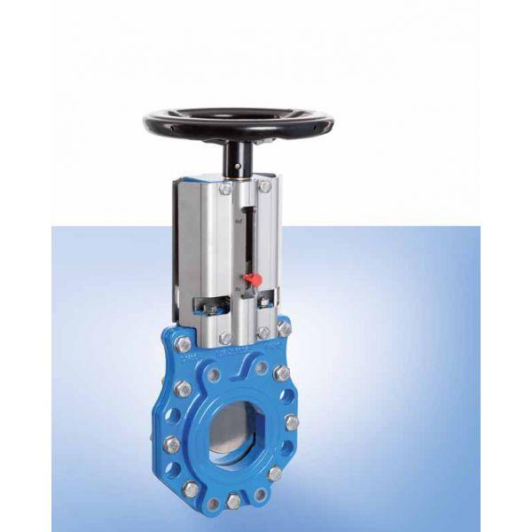 Zwischenflansch-Plattenschieber DN50-DN600 PN10 (DN50 – DN300) / PN8 (DN350 – DN400) / PN6 (DN500 – DN600)