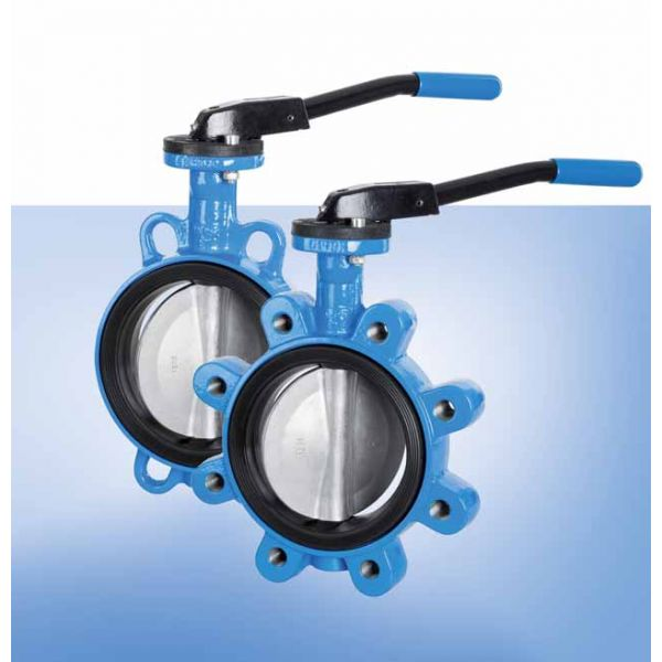 DN 32 - DN 1200 Wafer & Lug Butterfly Valves PN10/16